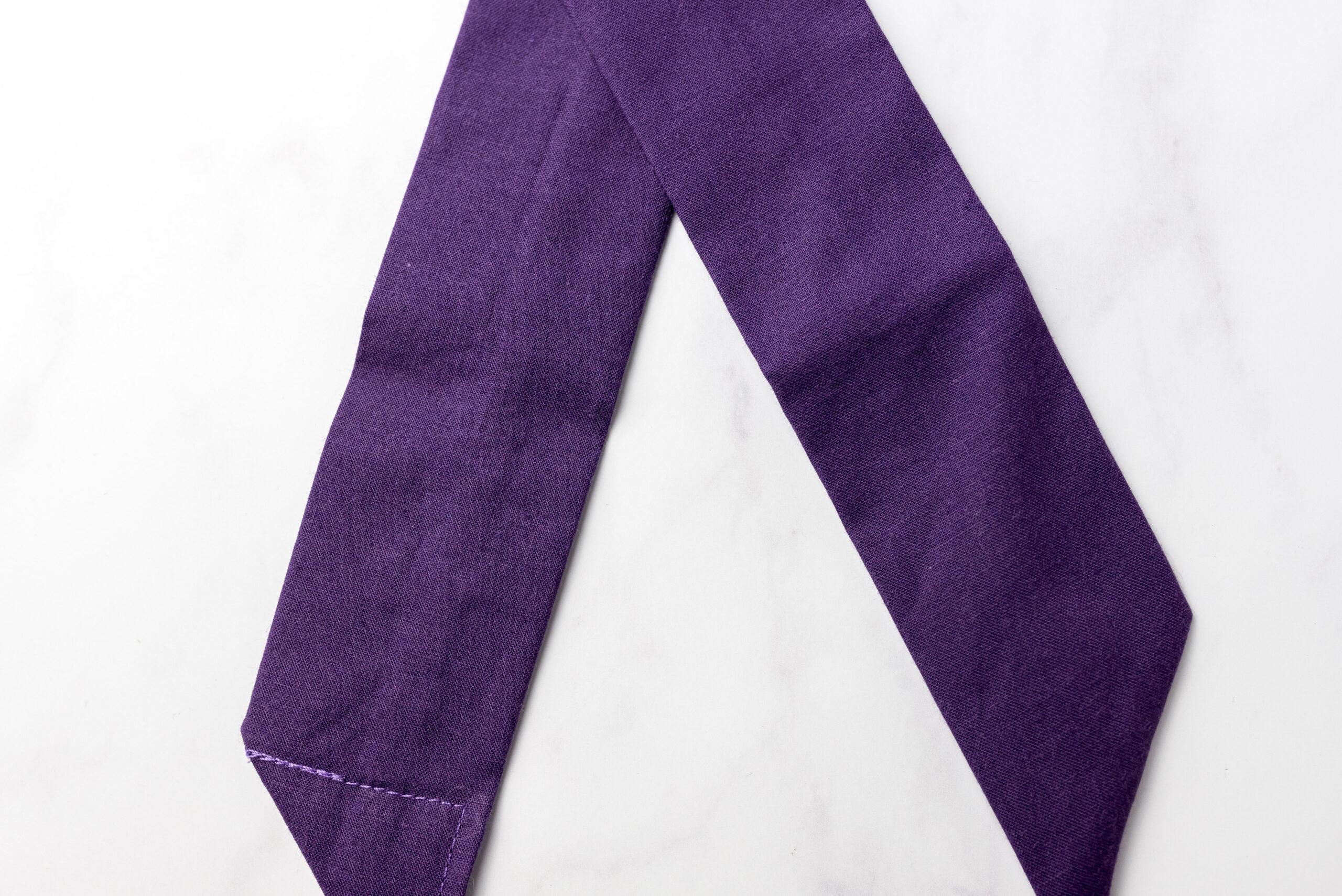 Koelsjaaltje Purple detail